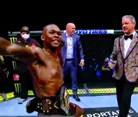 Israel Adesanya Beats Paulo Costa and Retains UFC Middleweight Title