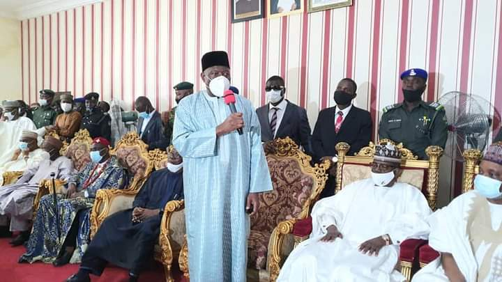 Jonathan Storms Kaduna, Mourns Emir of Zazzau
