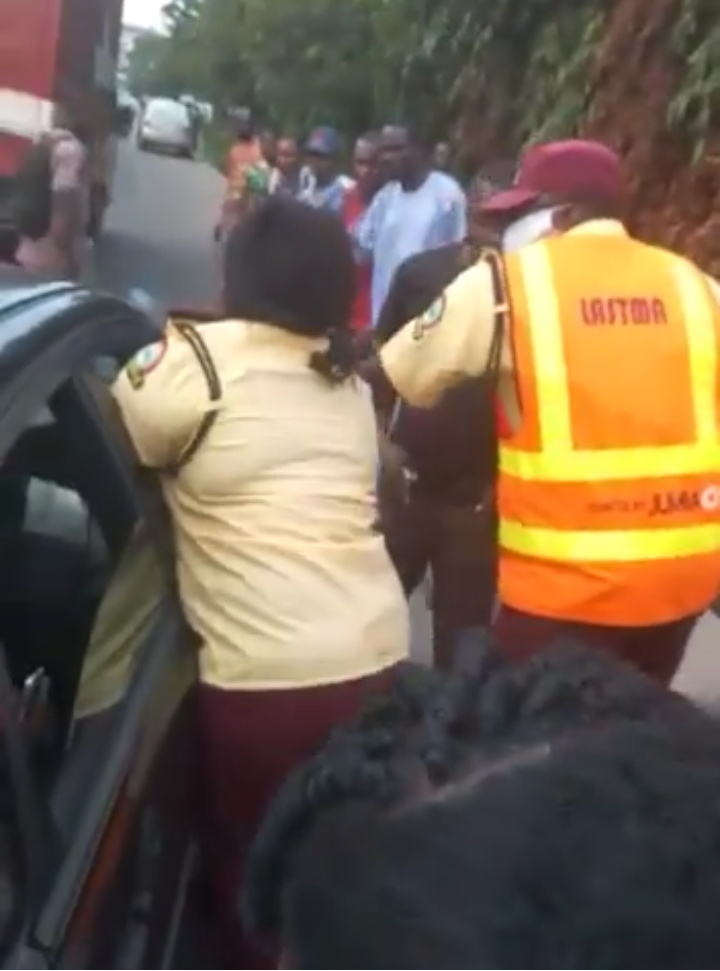 You've Demonstrated Poor Professional Judgement of the Situation, LASTMA Boss Blast Lady Officer Over Viral Video