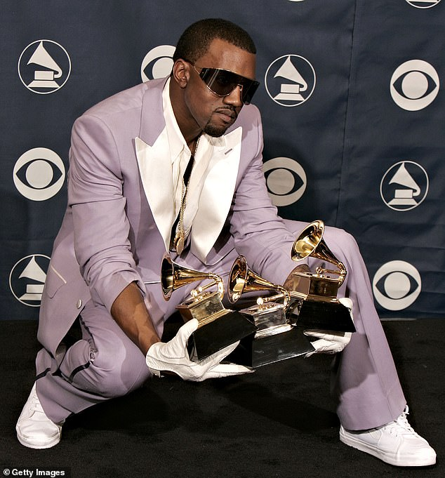 VIDEO: Kanye West Urinates On Grammy, Declares 'Black Masters Matter'