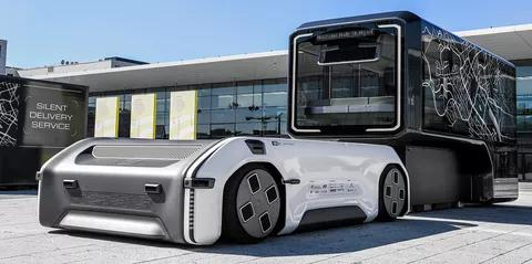 Germany's Aerospace Centre Has Unveiled a Concept Modular Electric Vehicle that Can Change from a Bus to a Cargo Van