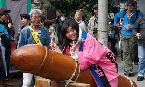 Check out The Japanese Festival of the Steel Where P@nis is Celebrated