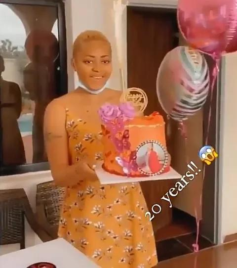 Regina Daniels Turns 20 – See Her Birthday Photos and Video