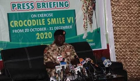 Army launches Crocodile smile VI to tackle cybercrime, banditry others
