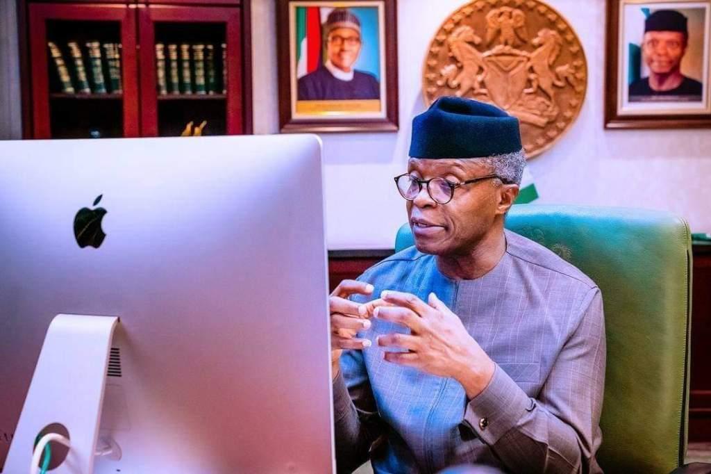 #EndSARS Protest – Osinbajo Begs Nigerians On Behalf of Buhari-led Federal Government