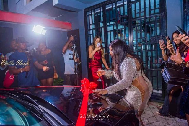 See the beautiful pictures of BBNaija star Dorathy, on her 25th birthday celebration party