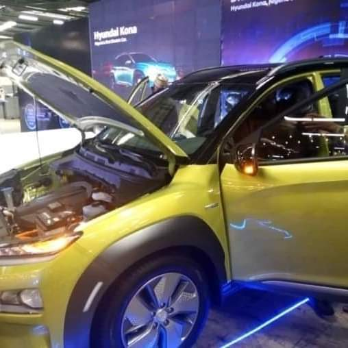 Lagos StateUnveils the First Made in Nigeria Electric Car – Hyundai Kona