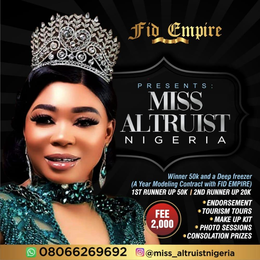 Who Will Be the Next Miss Altruist Nigeria?