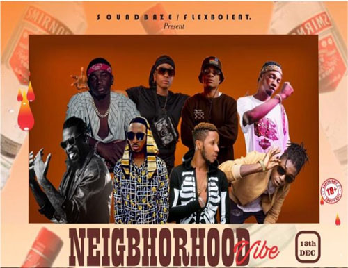 "SounDbaze StUDio X Flexxboi Entertainment Presents ""Neighborhood Vibe"" 2020"