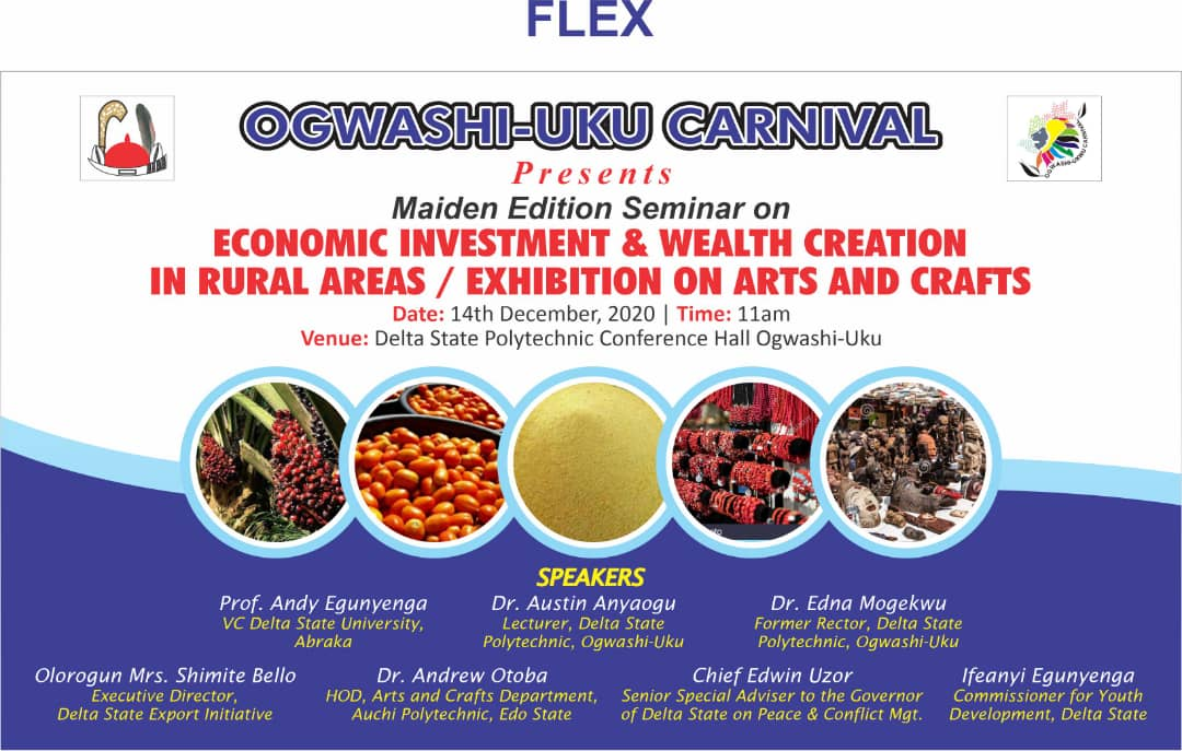 Ogwashi-Uku Seminar on Wealth Creation and Why You Should Attend