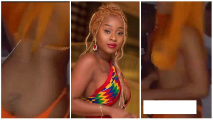 Video of Ghanaian Actress –  Efia Odo Tw£rk!ng  Nvd£ in the Club Hits the Net