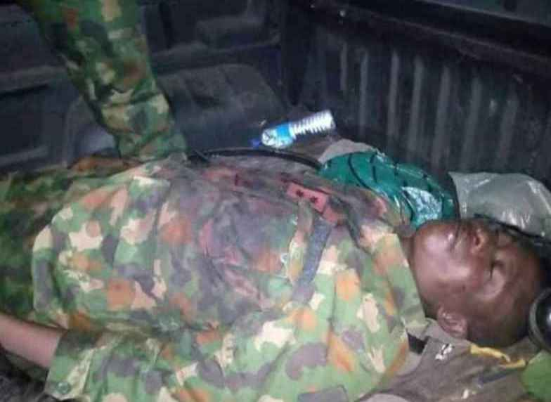 SO SAD! Nigerian Soldier Killed Few Days To His Wedding Ceremony