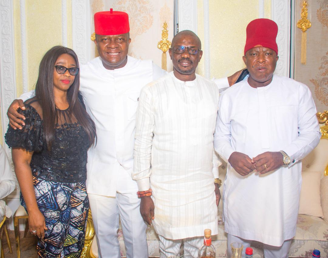 Nigeria's Richest Funeral Undertaker: Obi, Umeh, Others Grace APAMS BOSS@ 50 Birthday Celebration