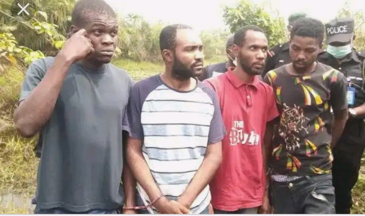 Blood Money!!! Six Men Arrested with Bags of Human Parts in Anambra