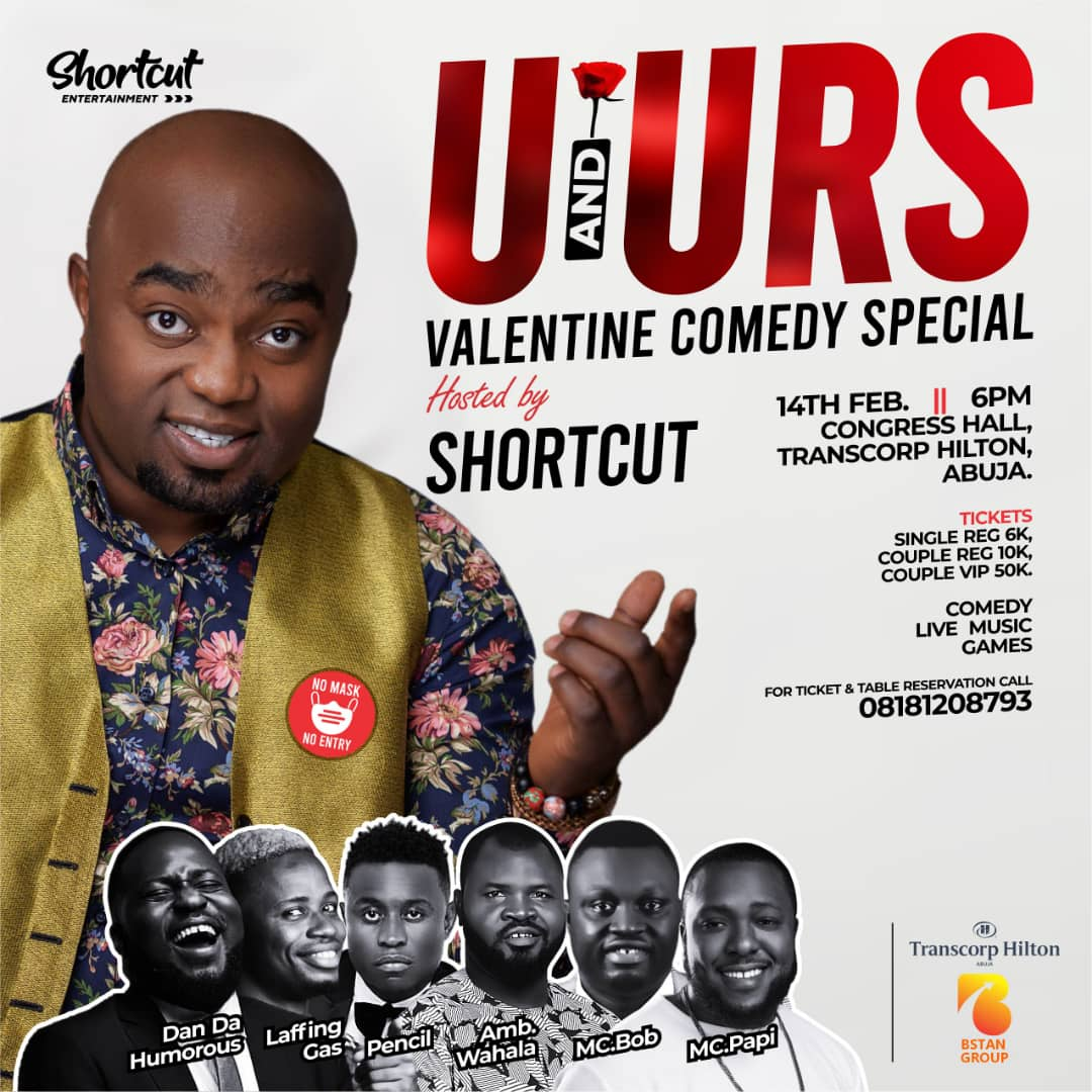U & URS Valentine Comedy Show Will Be Explosive – Says Shortcut
