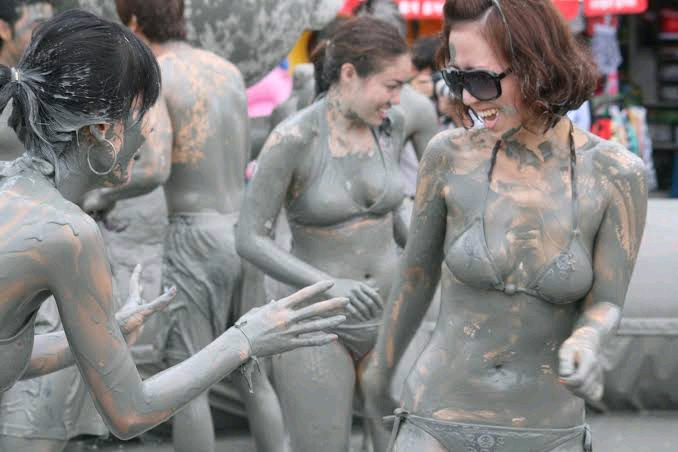 See The Country That Rubs Themselves In Mud During Festival Celebration