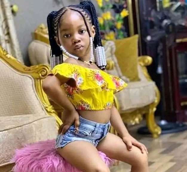 """Is This Right? "" See Photos Of A 4-Year-Old Girl That Got People Talking"