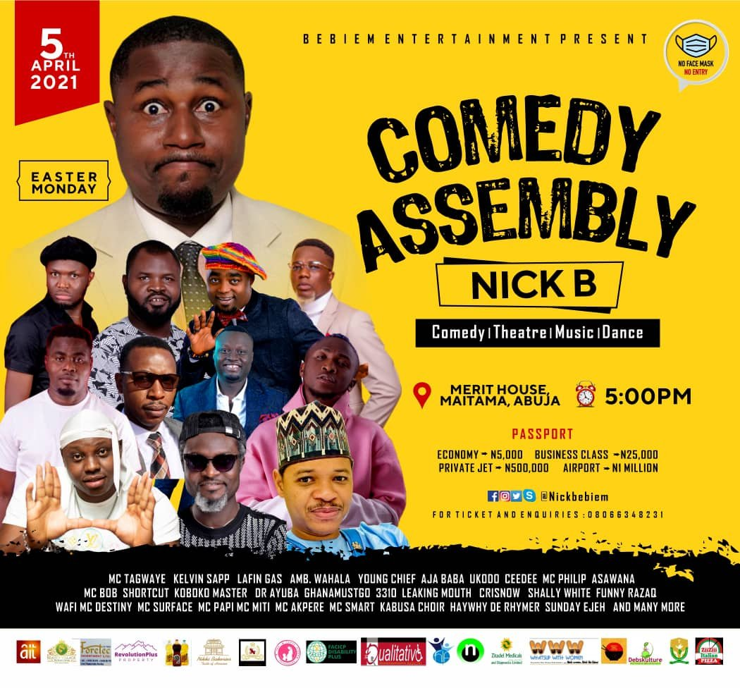 """Comedy Assembly With """"Nick B"""", Grab Your Discounted Tickets Now!!"""