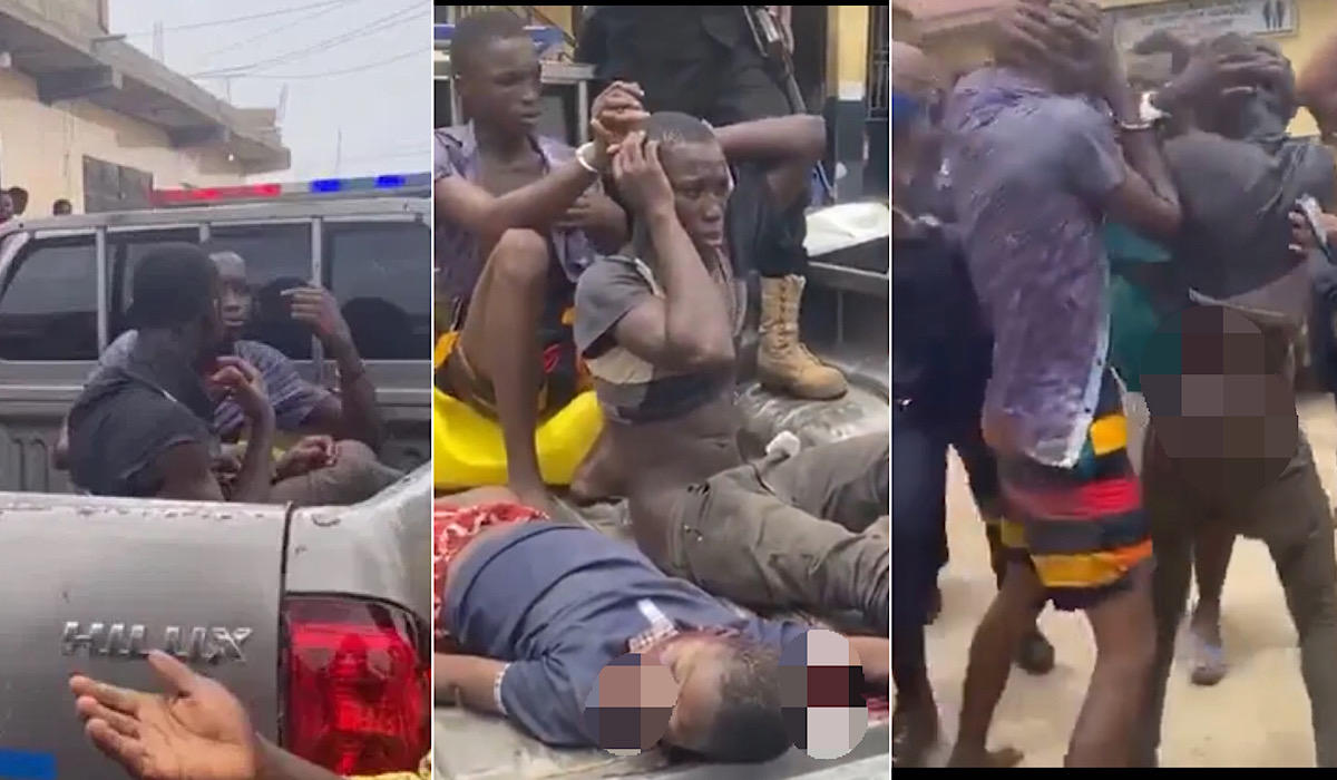 So Sad!!! See The 10-year-old Boy Killed in Ghana by Two Teenage Boys For Money Rituals  (VIDEO)
