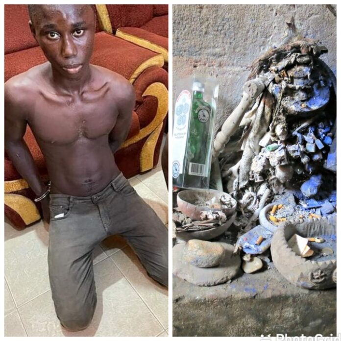 JUJU Man Who Asked Two Ghanaian Yahoo Boys To Bring Human Part For Money Rituals Finally Arrested