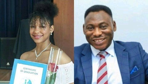 See Beautiful Pictures Of Amokachi's Half Nigerian and Half Tunisian Daughter Who Is A Graduate From Finland