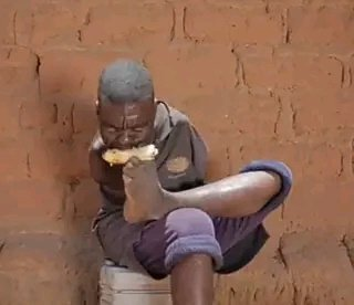Meet the Black Man Born Without Hands Who Can Farm and Do Many Other Things Using His Leg and Teeth
