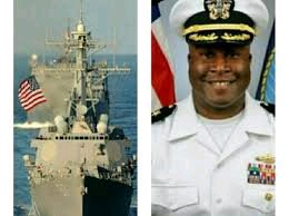 U.S Appoints A Biafran As A Navy Commander, Guided Missile Destroyer
