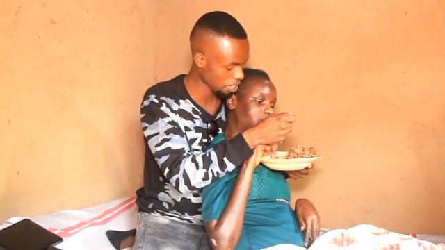 My Girlfriend Is Turning Into A Tree But I Will Never Leave Her- Man Shows True Love To A Dying Lady