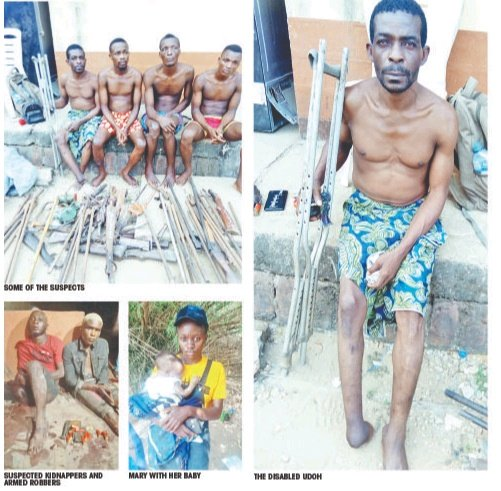 Handicap Man Who Sells Weapons To Robbers And Kidnappers In Anambra Arrested – See His Confessions