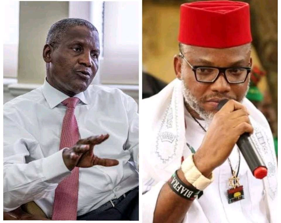 Days After Kanu Called Out Dangote For Exploiting Nigerians, Dangote Sends New Message To Nigerians