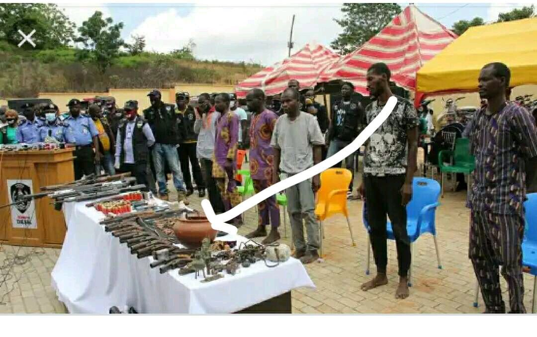 """""""No Bullet Can Penetrate us Except Our Pot Of Juju Is Broken""""- Deadly Arm Robber Gang Leader Confess"""