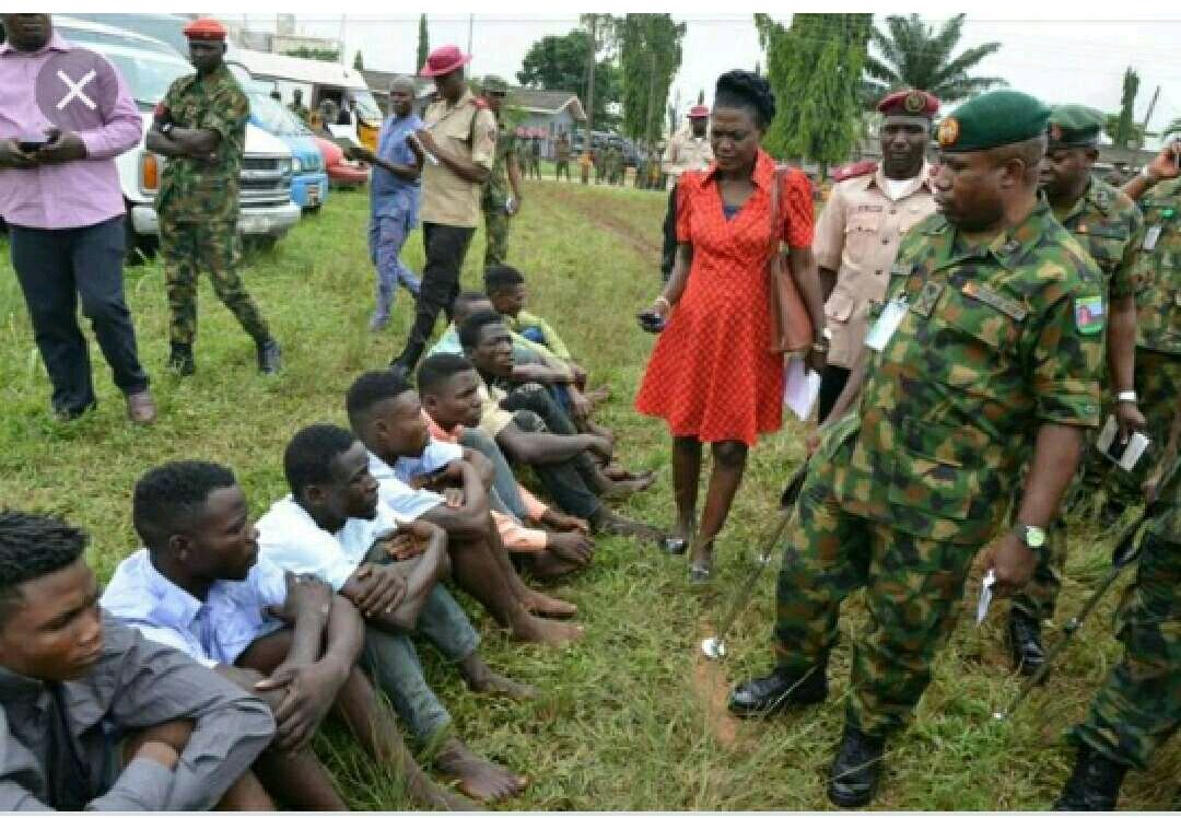 See the Vikings Cult Members Arrested After Fierce Gun Battle with Nigerian Army