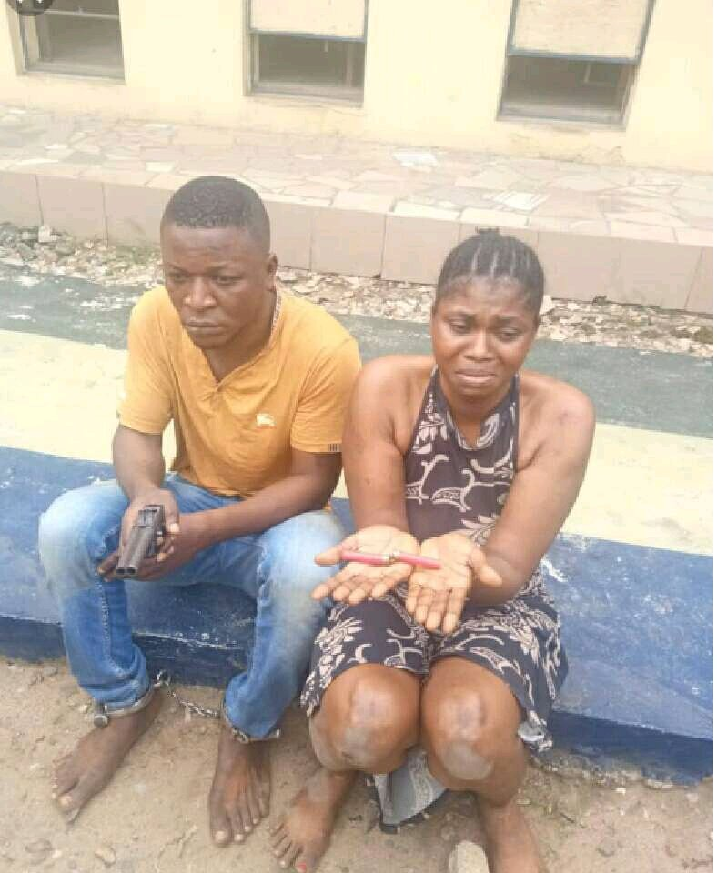 INSECURITY: See the Deadly Husband and Wife Who Rob and Kill People in Enugu