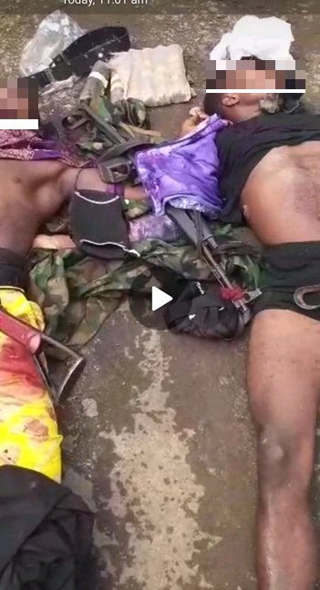 THE END OF IPOB/ESN? Jubilation In Owerri As Security Forces Crushed The Leader Of ESN – Dragon And His Gang