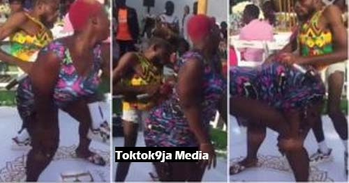 Heavy-duty slay queen almost reduces a guy to Zombie with her huge BACKSIDE [watch]