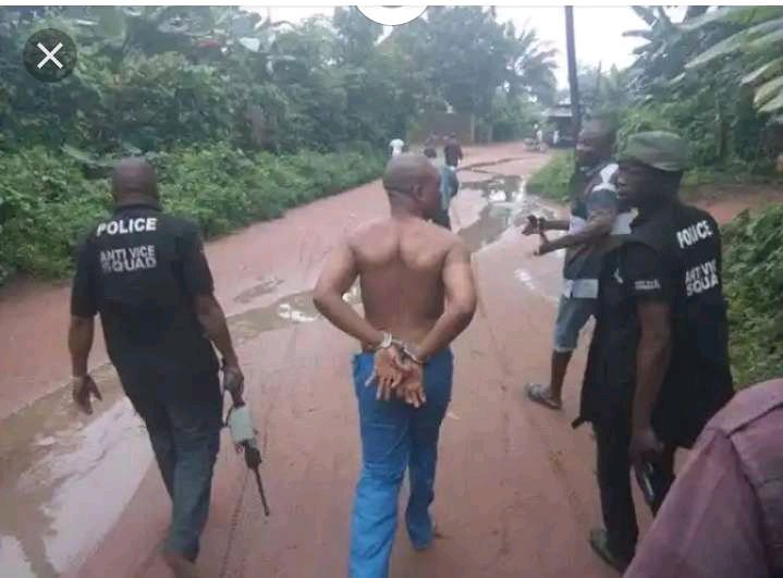 SHOCKING!!! Popular IMO State Businessman Arrested While Trying To Kill A Woman For Ritual