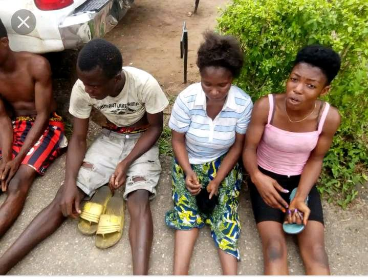 """""""We Have S8x in the Camp for Protection Before Going out to Rob"""" – Suspects Confesses"""
