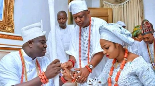 FIRE ON THE MOUNTAIN! Ooni Of Ife Allegedly Welcomes Secret Baby With Another Woman