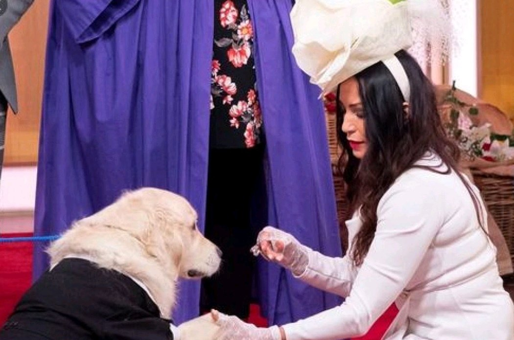 Remember The Woman That Got Married To Her Dog In 2019? See Their Recent Photos And Why She Married Her Dog