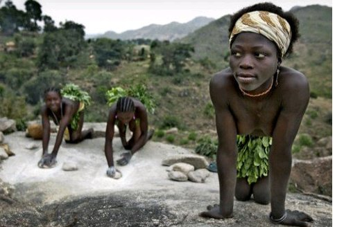 N@KED TRIBES OF AFRICA: A Look Inside The Koma Tribe Of Cameroon And Nigeria That Buried Twin Babies And Share Wives With Friends As Part Of Tradition