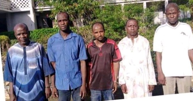 See the Faces of 5 Suspects Arrested for Raping Teenage Boy in Kano