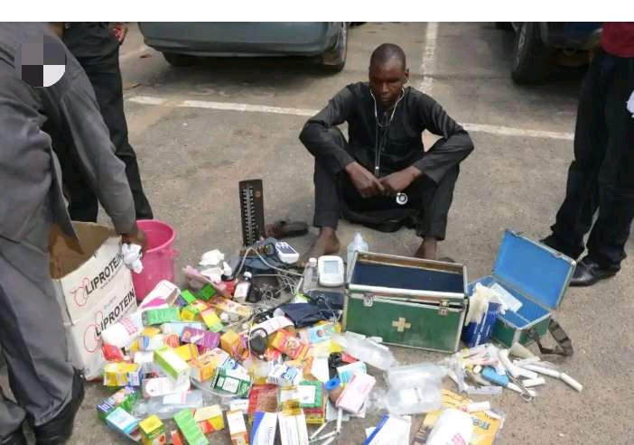 RED ALERT!!! See the Fake Doctor Arrested That Has Killed Many Pregnant Women During Delivery
