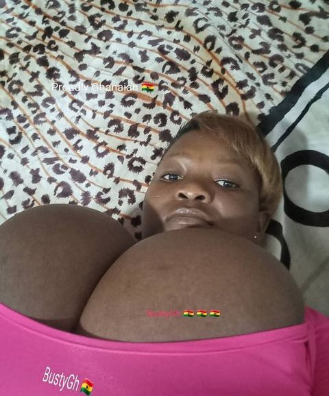 VIDEO: Meet the Lady with the Biggest Melon in Ghana – Bustygh