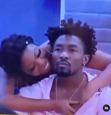 Bbnaija 2021: (VIDEO) I Love It When A Guy Chops Me and People Are Watching – Angel  Tells Boma