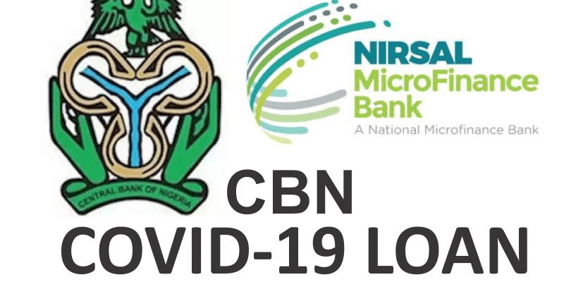 Apply for Up to 3Million Naira In Nirsal COVID-19 Loan Program