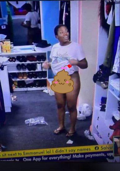 BBNaija 2021: Complete Video of Angel Deliberately Showcasing Her V*gina to Whitemoney
