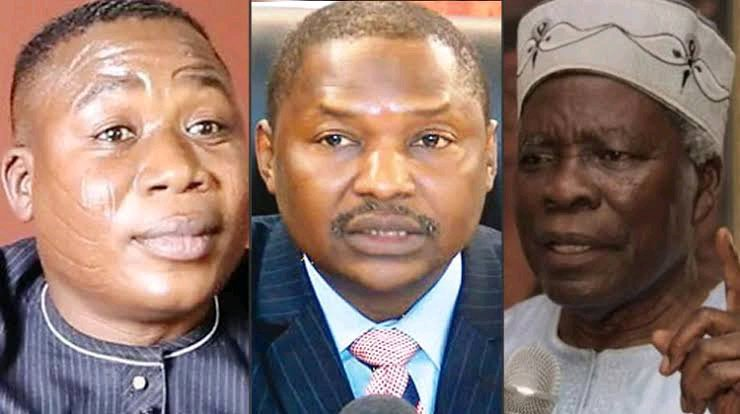 DSS AND MALAMI IN TROUBLE After High Court Approved To Verify CCTV Footage Of Igboho's Residence Attack
