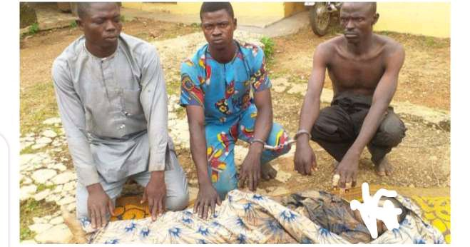 WICKEDNESS!!! See the Face of Man Who Killed His 14yr old Brother for Money Rituals