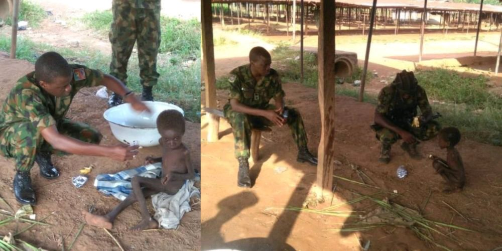 MIRACULOUS!!! Soldiers Saw A Child Crawling In A Bush, They Followed Him And Discovered This