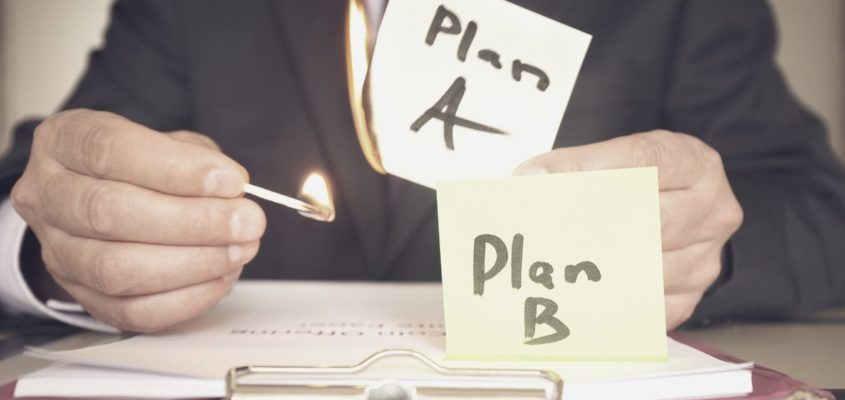 """How to Design """"Plan B"""" Option For All Your Projects So You Don't Fail"""